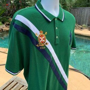 POLO RALPH LAUREN Crest Big Pony Polo Shirt 2XL